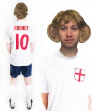 Wayne Rooney England Funny Football Fancy Dress Costume